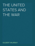 The United States and the War