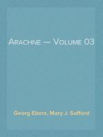 Arachne — Volume 03