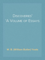 Discoveries A Volume of Essays