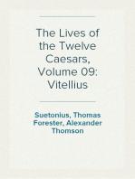The Lives of the Twelve Caesars, Volume 09