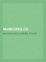 Mémoires de Mademoiselle Mars (volume II) (de la Comédie Française)