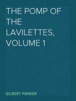 The Pomp of the Lavilettes, Volume 1