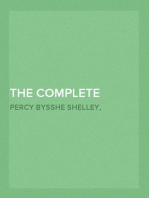The Complete Poetical Works of Percy Bysshe Shelley — Volume 2