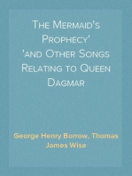 The Mermaid's Prophecy and Other Songs Relating to Queen Dagmar