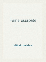 Fame usurpate