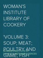 Woman's Institute Library of Cookery Volume 3