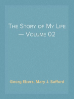 The Story of My Life — Volume 02