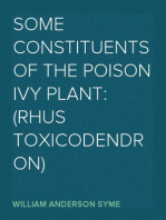 Some Constituents of the Poison Ivy Plant
