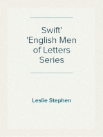 Swift English Men of Letters Series