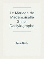 Le Mariage de Mademoiselle Gimel, Dactylographe