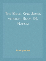 The Bible, King James version, Book 34