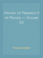 History of Friedrich II of Prussia — Volume 02