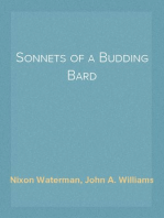 Sonnets of a Budding Bard