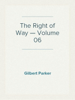 The Right of Way — Volume 06