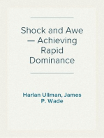 Shock and Awe — Achieving Rapid Dominance