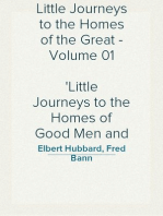 Little Journeys to the Homes of the Great - Volume 01