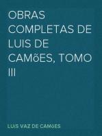 Obras Completas de Luis de Camões, Tomo III