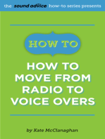 How To Move from Radio To Voice Overs