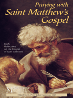 Praying with Saint Matthew's Gospel