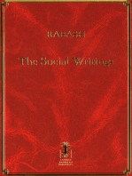 Rabash--The Social Writings