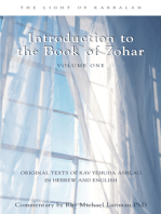 Introduction Book of Zohar V1