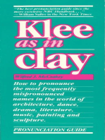 Klee as in Clay
