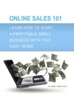 Online Sales 101