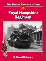 The Battle Honours of the Royal Hampshire Regiment