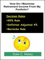 How Do I Maximize Retirement Income From My Portfolio?