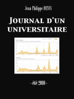 Journal d'un universitaire (été 2010) (Enhanced Version)