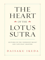 The Heart of the Lotus Sutra