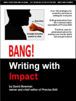 Bang! Writing with Impact
