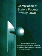 Compilation of State and Federal Privacy Laws, 2010 Consolidated Edition