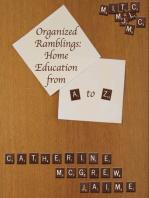 Organized Ramblings