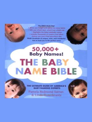 The Baby Name Bible by Pamela Redmond Satran - Read Online