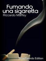 Fumando una sigaretta