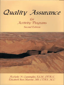 Quality Assurance for Activity Programs