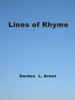 Lines of Rhyme