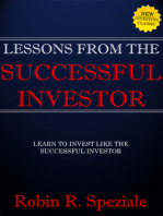 Lessons From The Successful Investor