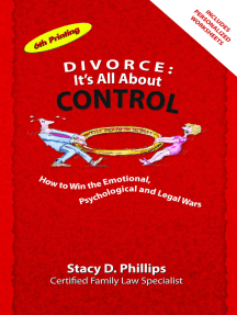 Divorce: It's All About Control