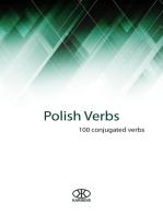 Polish verbs