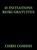 45 Initiations Reiki Gratuites