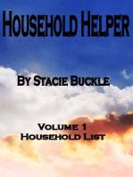 Household Helper vol 1 Household List