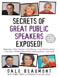 Secrets of Great Public Speakers Exposed!
