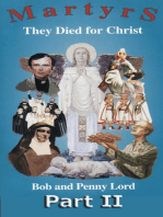 Martyrs They Died for Christ Part II