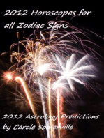 2012 Horoscopes for All Zodiac Signs