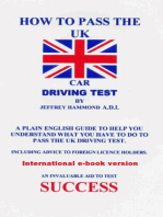 How To Pass The UK Car Driving Test