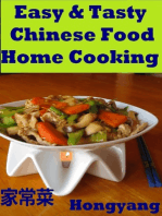 Easy & Tasty Chinese Food Home Cooking