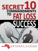 Secret 10 Commandments to Fat Loss Success