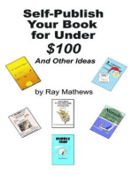 Self-Publish Your Book for Under $100